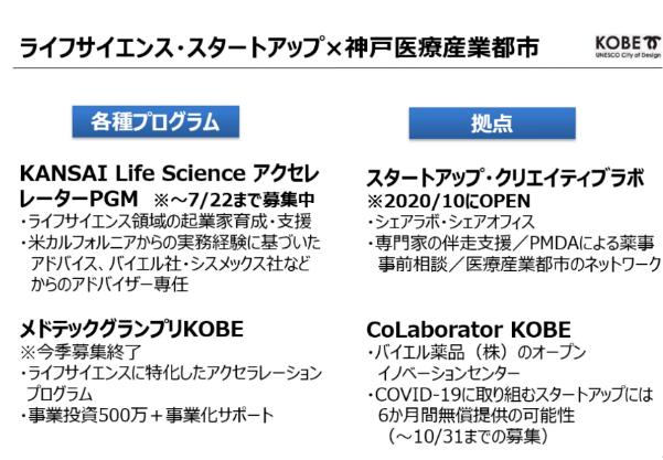 ライフサイエンス・スタートアップ×神戸医療産業都市2