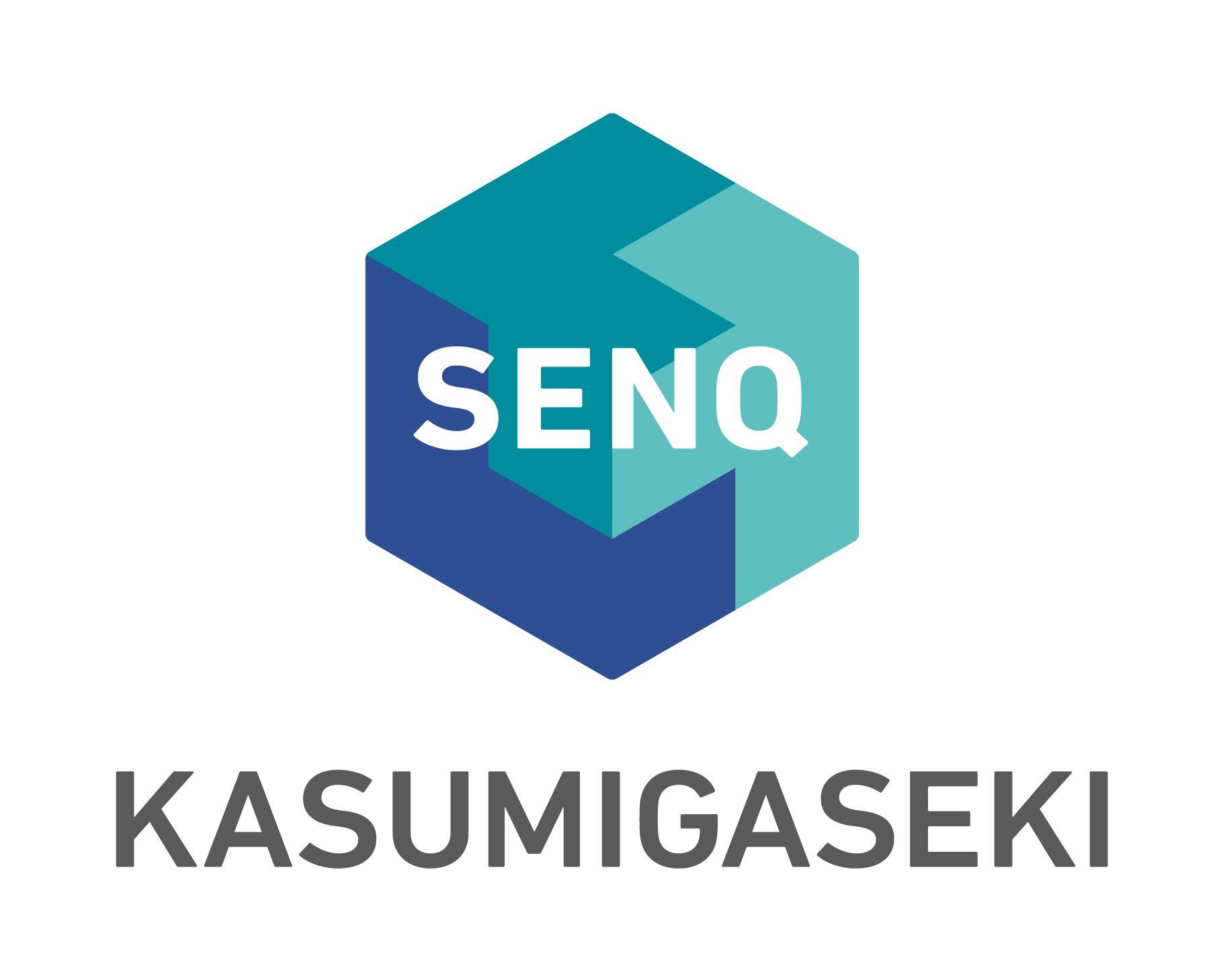 10_SENQ_brandlogo_KASUMIGASEKI_lockup_vertical