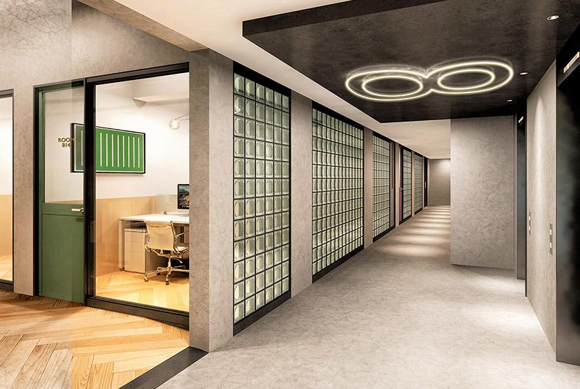 8F エレベーターホール